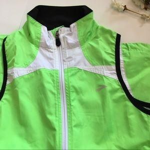 Brooks Jackets & Coats - Brooks Running Vest Nightlife High Vis Active Top